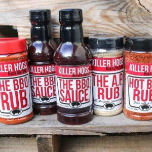 Rubs and Sauce